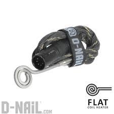 d nail flat coil heater d nail online store