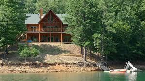 5 Bedroom Townhouse For Rent Lakefront Luxury Log Home On Scenic Fontana Vrbo