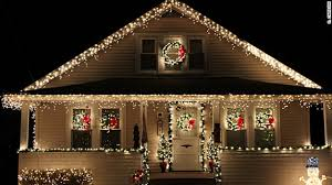 house christmas lights white christmas lights houses happy holidays