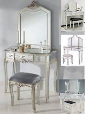 Silver Vanity Table Silver Dressing Tables Ebay