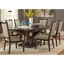 liberty furniture springfield 7 piece pedestal table set hayneedle