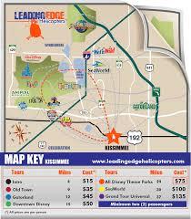 Map Of Daytona Beach Leading Edge Helicopter Tours