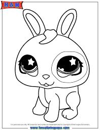 littlest pet shop cute bunny coloring littlest pet shop