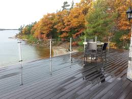 Banister Options Best 25 Glass Deck Railing Ideas On Pinterest Glass Fence