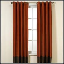 Burnt Orange Curtains Burnt Orange Curtains Blackout Patterned Shower And Healthfestblog
