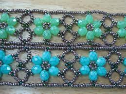 make bead flower bracelet images Beaded flower bracelet part 1 modern minerals jpg