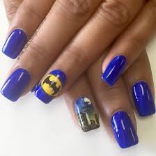 batman nail art design nail art pinterest batman nails