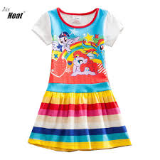 pattern dress baby girl baby girl wearing summer cotton children s clothing girl children