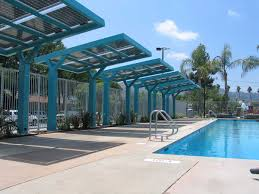 Swimming Pool Canopy by The Most High Tech Swim You U0027ll Ever Take Shade Structure And