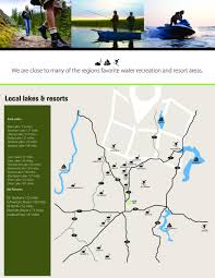 Spokane Map Lake Map North Spokane Rv Campground