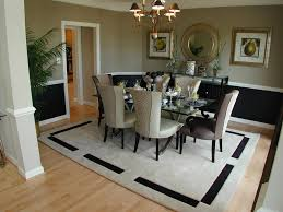 mirrored buffet table dining room traditional with chair rail