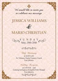 wedding invitations jakarta undangan jawa e invitation