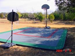 Build A Basketball Court In Backyard Outdoor Basketball Court Flooring Ultrabasesystems