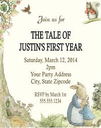rabbit party rabbit baby shower or birthday party invitations personalized