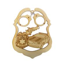 officer ornament officer gifts