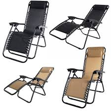 Patio Recliner Chair by 2x Palm Springs Zero Gravity Chairs Lounge Outdoor Yard Patio