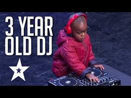 3 year old dj has the crowd on their feet got talent global youtube