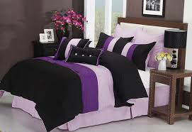 White Bed Set King Purple And Black Bedding Sets U2013 Ease Bedding With Style