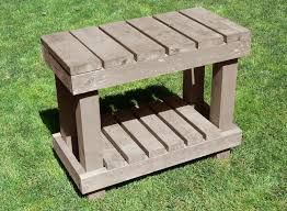 Free Woodworking Plans Outdoor Table by Potting Bench Plans