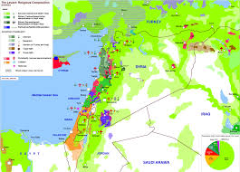 Syria On A Map by 40 Maps That Explain The Middle East