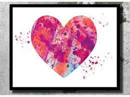 watercolor art print love watercolor painting couple wedding gift