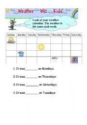 english teaching worksheets calendar