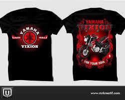 desain foto desain kaos yamaha vixion jasa desain logo grafis kaos t shirt