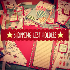 craft fair idea 8 shopping list holders with pocket to hold