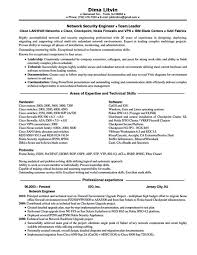 download network security engineer sample resume