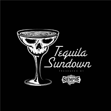 martini glass logo tequila sundown