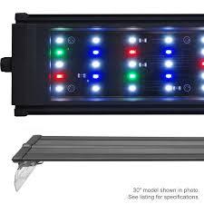 30 led aquarium light beamswork da fspec led aquarium light freshwater full spectrum 24 30