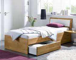 Schlafzimmer Bett Platzieren Einzelbett Aus Holz Mit Schubladen Kaufen Leova Betten De
