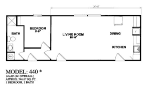floor plans and prices 14x40 mobile home fresh 1 bedroom homes floor plans ideas 5 new