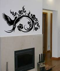 floral sticker wall art mural decal design stickers for walls download