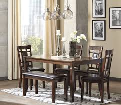 Hamlyn Dining Room Set by Bennox Brown 6 Piece Rectangular Dining Room Set From Ashley