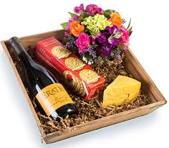 wine and cheese basket wine fresh fruit baked goods gourmet baskets for fort worth
