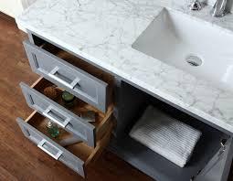 ariel scnan42swg nantucket 42 single sink bathroom vanity set with