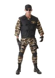 Army Halloween Costumes Deluxe Seal Team Men Army Costume 64 99 Costume Land
