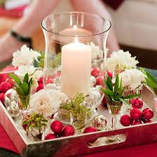 simple christmas table decorations christmas table decoration craft ideas home design and decorating