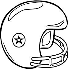 nfl football helmet coloring pages getcoloringpages com