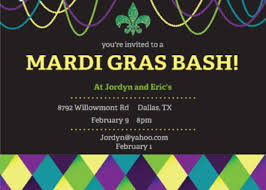 cheap mardi gras mardi gras party invitations reignnj