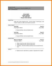 Free Blank Resume Outlines Online Resume Examples Free Resume Samples Online Sample