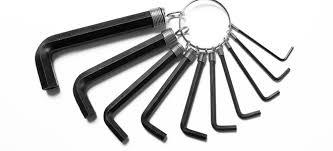 alum key set 4 ways to improvise an allen wrench doityourself