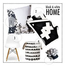 black and white living room decorating ideas in modern style home