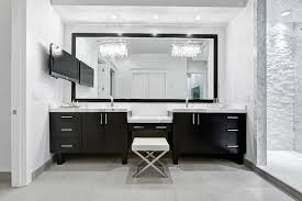 Modern Vanity Bathroom Black Vanity Modern Bathroom Chic Design