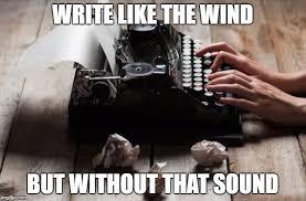Typewriter Meme - typewriter typing memes imgflip