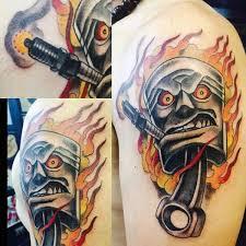 best 25 piston tattoo ideas on pinterest rod tattoo von