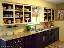 Backsplash In White Kitchen Older And Wisor Painting A Tile Backsplash And More Easy Kitchen