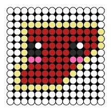kawaii taco perler bead pattern bead sprite perler bead