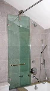 bifold shower door frameless bathtub shower enclosures 59 satin nickel bath tub doors 2